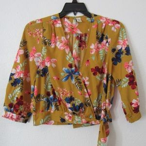 Mashall's flowery blouse